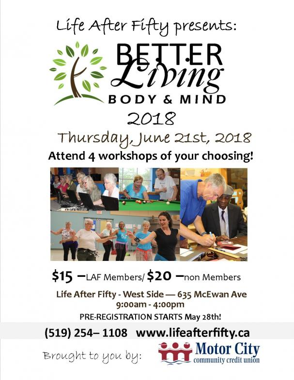 Better Living Body and Mind 2018
