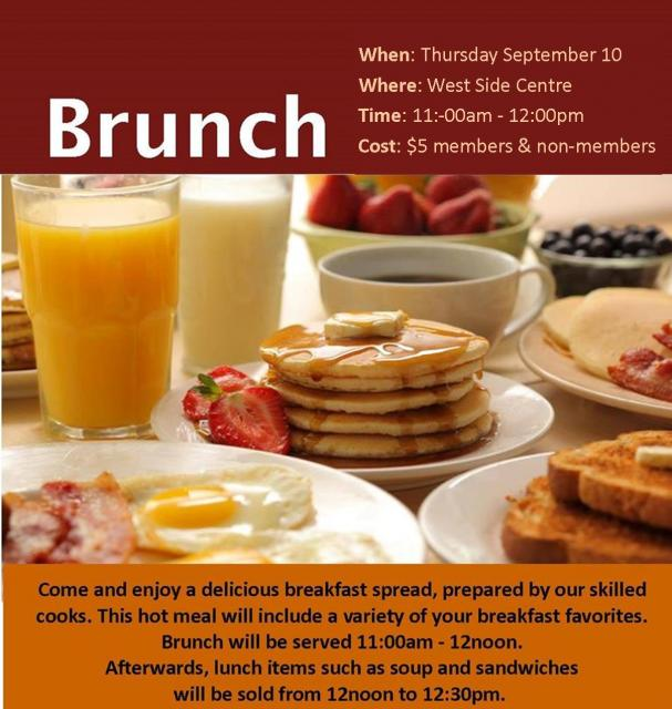 Brunch September 2015