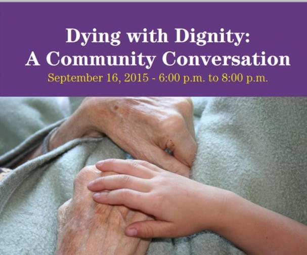 CARP Presents: Dying With Dignity - A Community Conversation