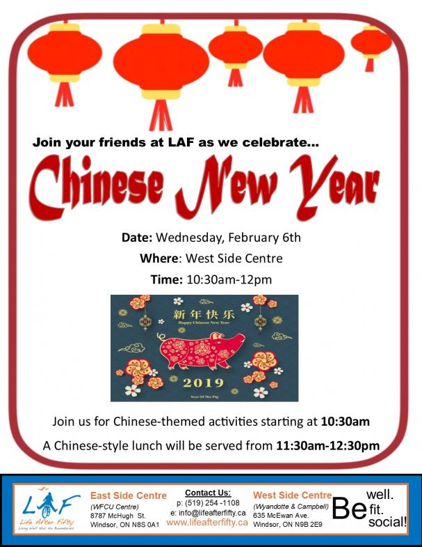Celebrate Chinese New Year!