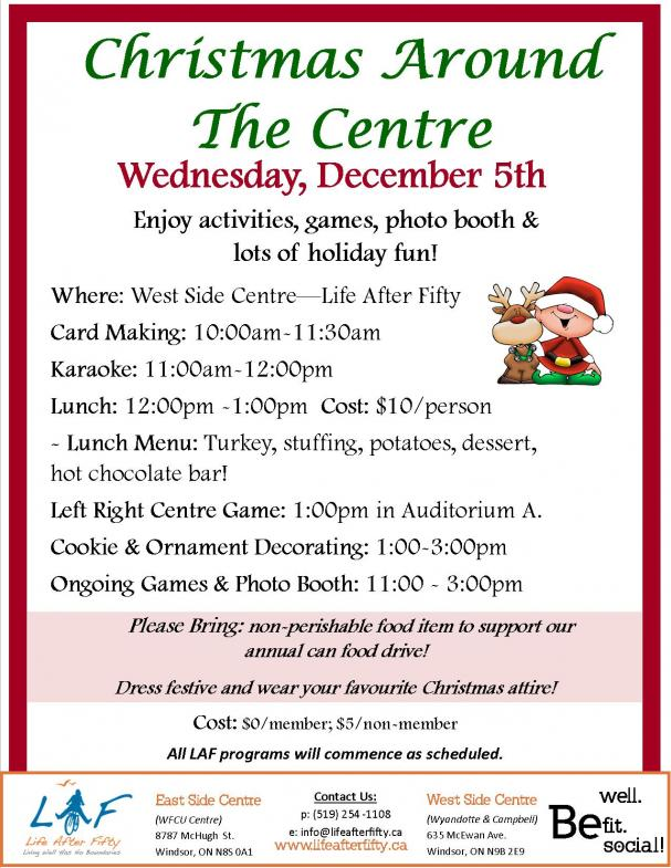 Christmas at the West Side Centre