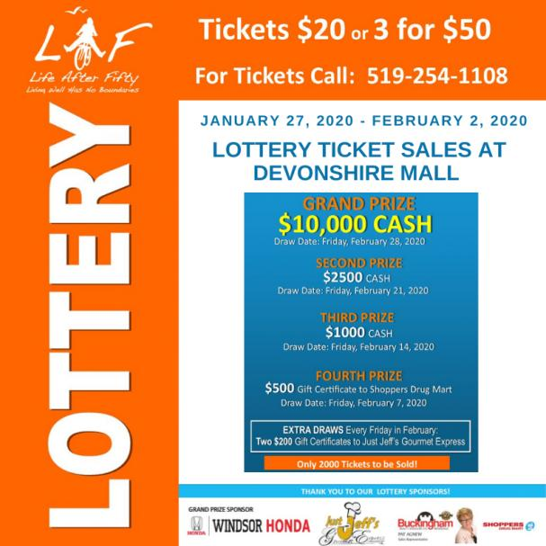 Lottery Sales at Devonshire Mall