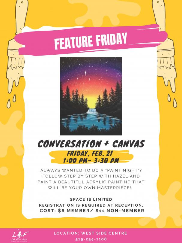 Conversation & Canvas February 21 2020