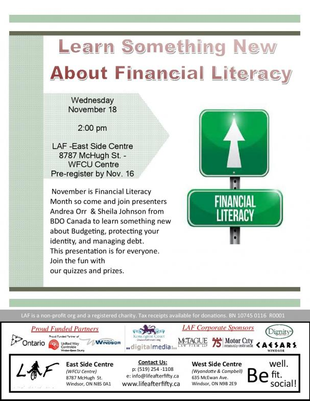 Learn Something New About Financial Literacy