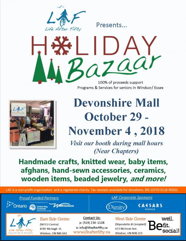 LAF Holiday Bazaar
