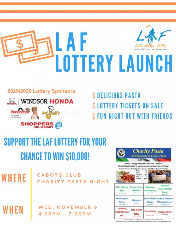 LOTTERY LAUNCH!