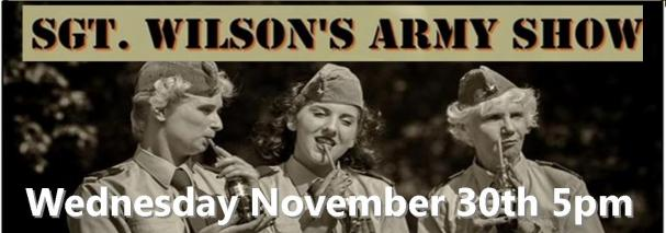 SGT Wilson's Army Band - Dinner Show
