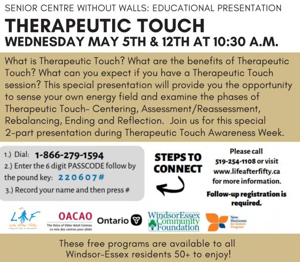 Educational Presentation: Therapeutic Touch
