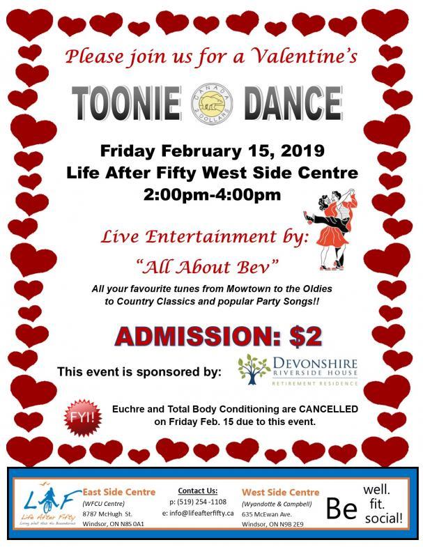 Toonie Dance
