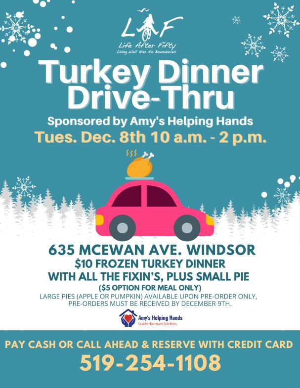 Turkey Dinner Drive-Thru