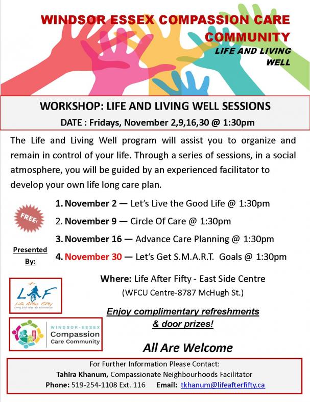 WECCC-Life and Living Well (ESC)