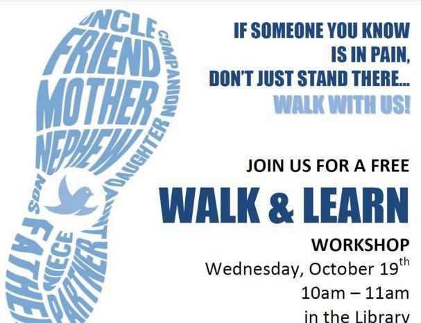 Walk and Learn!