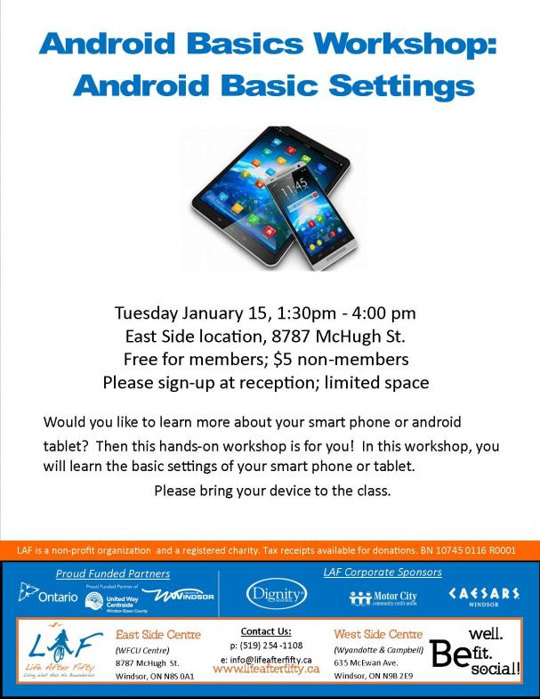 Android Basic Settings - ESC