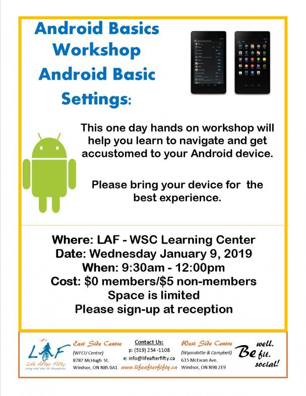 Android Basics Workshop WSC