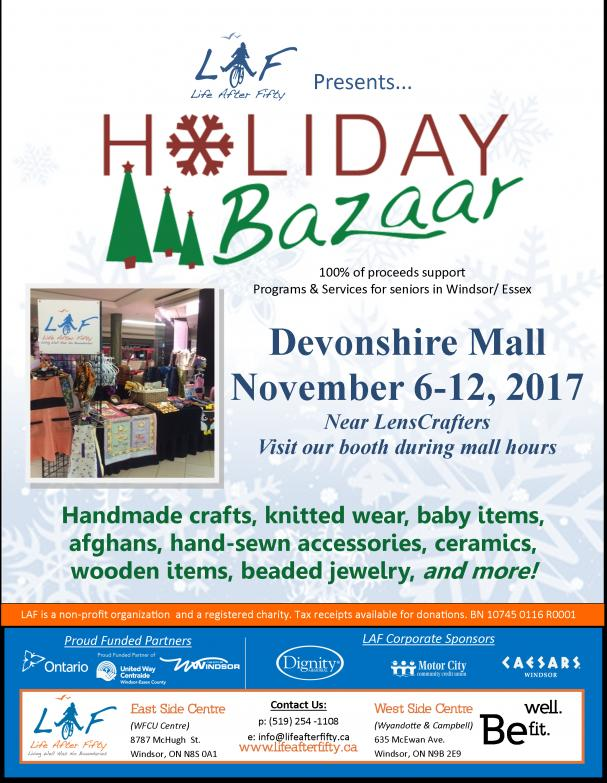 Holiday Bazaar - Devonshire Mall