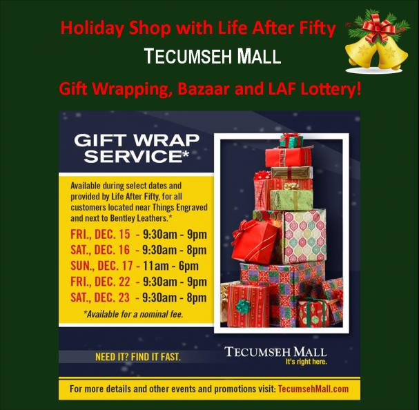 Gift Wrap Service and Bazaar at Tecumseh Mall