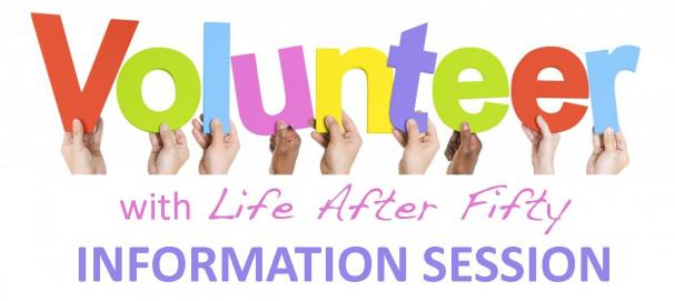 Volunteer for LAF! INFORMATION SESSION