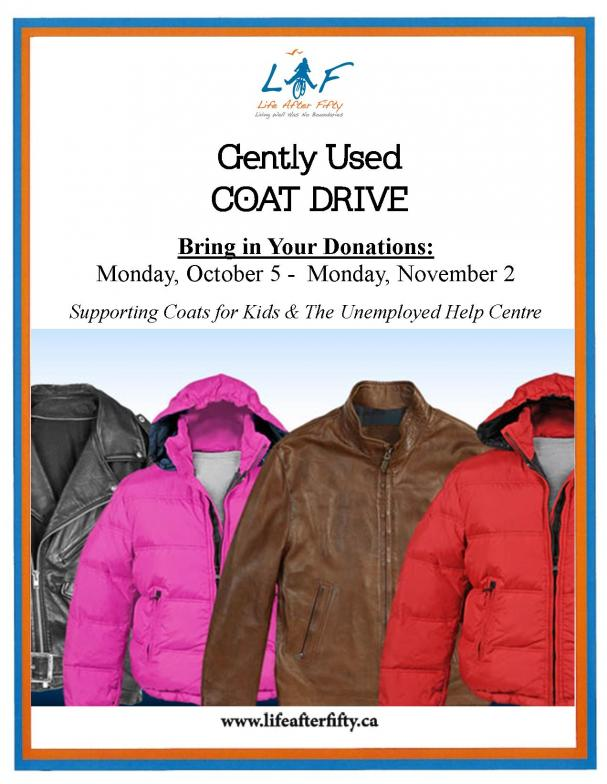 (Gently Used) Coat Drive
