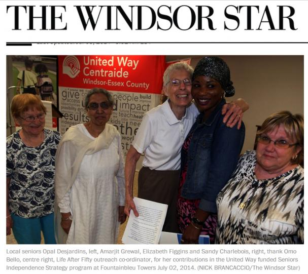 United Way Celebrates the Achievements of the Life After Fifty Outreach Program