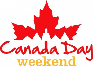 CLOSED FOR CANADA DAY LONG WEEKEND
