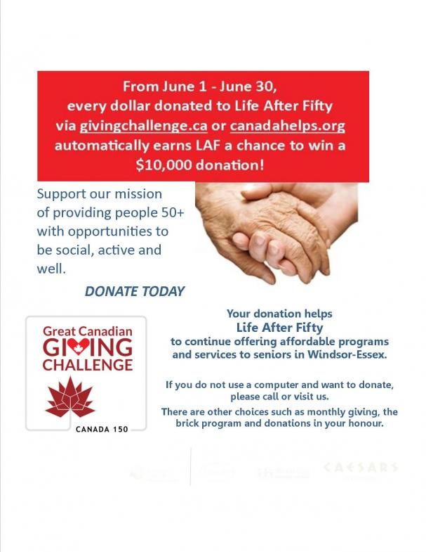 The Great Canadian Giving Challenge - June