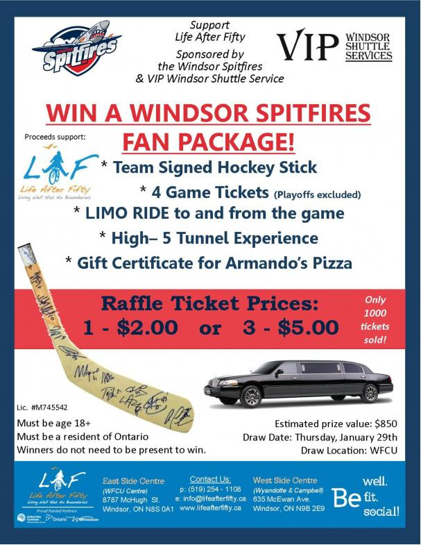 Win a Windsor Spitfires Fan Package!