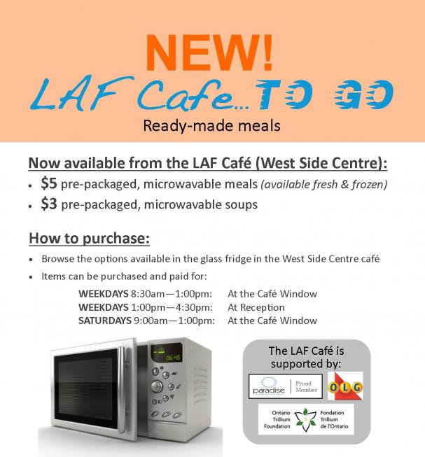 LAF Cafe... TO GO!