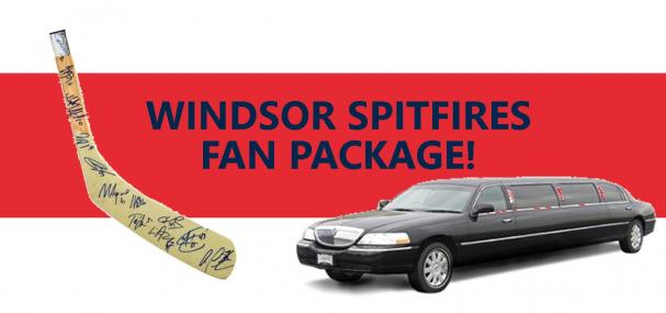 Windsor Spitfires Fan Package Winner!