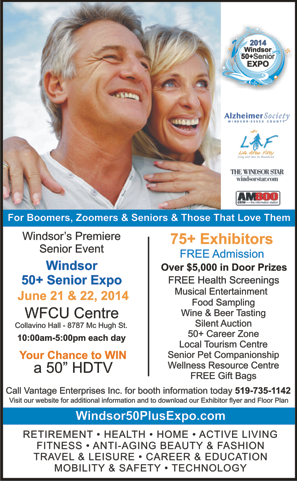 Windsor 50+ Seniors Expo - Featuring... Life After Fifty!