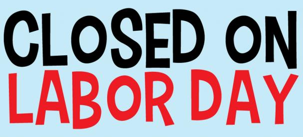 graphic regarding Closed Labor Day Printable Sign referred to as Lifetime As soon as 50 - Information - Shut for Labour Working day